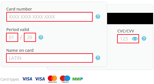 How To Pay Via Visa Mastercard American Express Platron ��� Rhfrontplatronru: American Express Card Number Location At Gmaili.net